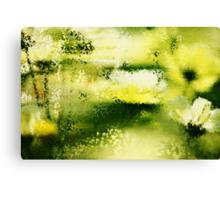 Dreamy Flowers In The Rain  Canvas Print