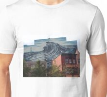 Large Mural, Grove Street, Jersey City, New Jersey Unisex T-Shirt