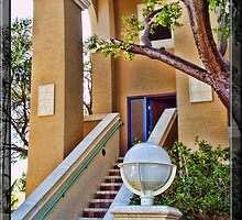 Blue Door on the Side of Las Olas by GolemAura