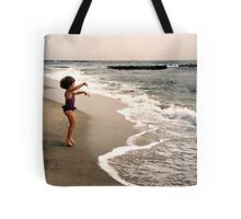 Leaping For Joy - Waves Come Get ME! Tote Bag