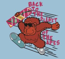 Back to the Planet of the Apes One Piece - Short Sleeve