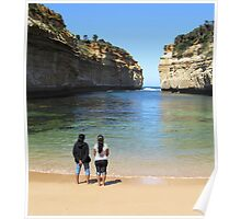 Loch Ard Gorge - Port Campbell National Park, Victoria Poster