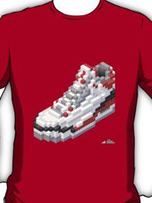 3D 8-bit Air Jordan 3 T-Shirt