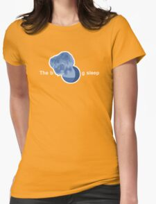 The Big Sleep Womens Fitted T-Shirt