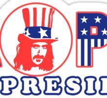 Zappa For President Shirt Sticker