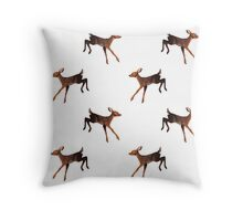Doe (Alt.) Throw Pillow