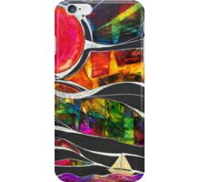Three Ships - Let's Sail Away iPhone Case/Skin