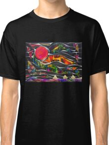 Three Ships - Let's Sail Away Classic T-Shirt