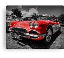 '59 Corvette 001 Canvas Print