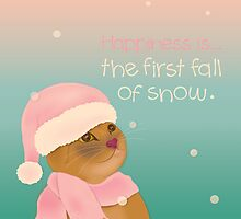 Dressing up for snow by GraphicTabby