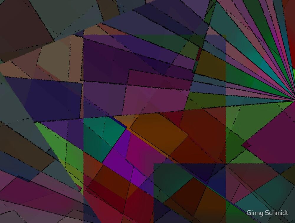 Dark Mosaic by Ginny Schmidt