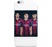 Lionel Messi Neymar Jr Luis Suarez iPhone Case/Skin