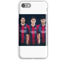 Lionel Messi Neymar Jr Luis Suarez iPhone Case/Skin