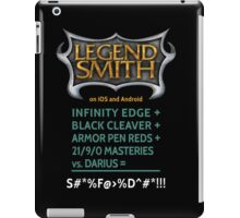 LegendSmith Calculating Darius iPad Case/Skin