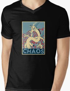 CHAOS Mens V-Neck T-Shirt