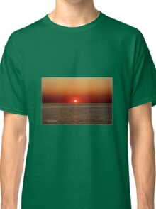 Beautiful Late sunset in Sweden  Classic T-Shirt