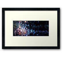 """tron"" - movie art Framed Print"