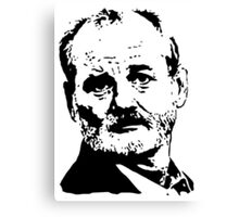 Bill Murray Best Face Canvas Print