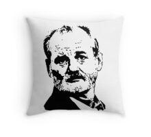Bill Murray Best Face Throw Pillow