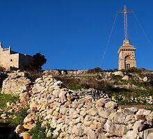 Laferla Cross Siggiewi, Malta. by Patrick Anastasi
