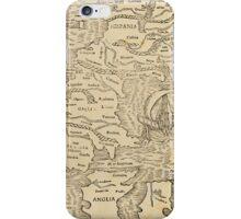 Antique map iPhone Case/Skin
