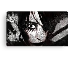 Paper Dolly Canvas Print