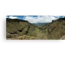 Sani Pass South Africa Canvas Print