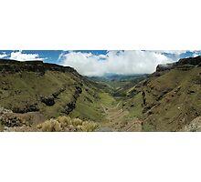 Sani Pass South Africa Photographic Print
