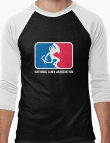 National Alien Association Men's Baseball ¾ T-Shirt