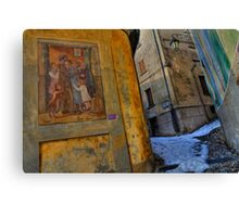 Wall painting # Canvas Print