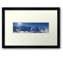 Diavolezza Swiss Framed Print