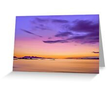 Alba Evening Greeting Card