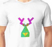 Rainbow Reindeer Unisex T-Shirt