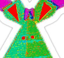 Rainbow Reindeer Sticker
