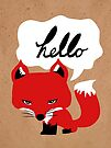 The Fox Says Hello by Beth Thompson