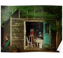 The Artists Hideaway Poster
