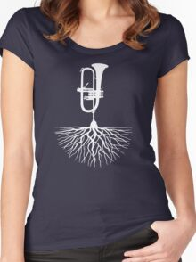 Musical Roots (Trumpet) Women's Fitted Scoop T-Shirt