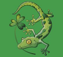 Saint Patrick's Day Gecko Kids Clothes