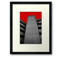 Car Park Framed Print