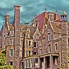 Boldt Castle On Heart Island, Thousand Islands, NY by Melissa Carlini