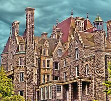 Boldt Castle On Heart Island, Thousand Islands, NY by Melissa Carlini