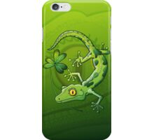 Saint Patrick's Day Gecko iPhone Case/Skin