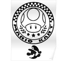 Mario Kart Mushroom Cup Poster