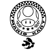 Mario Kart Mushroom Cup Photographic Print
