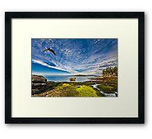 BEACHCOMBER'S PARADISE Framed Print