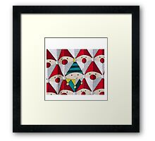 Spot The Elf Framed Print