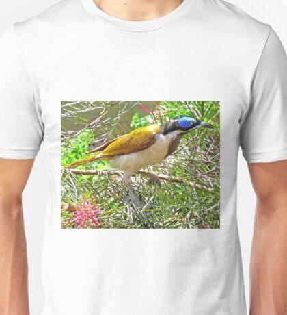 Blue Faced Honey Eater - (Entomyson Cyanotis) Unisex T-Shirt