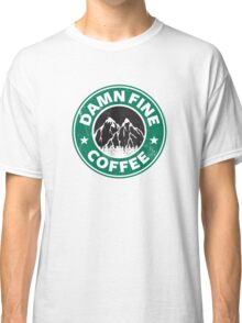 Damn Fine Coffee Classic T-Shirt