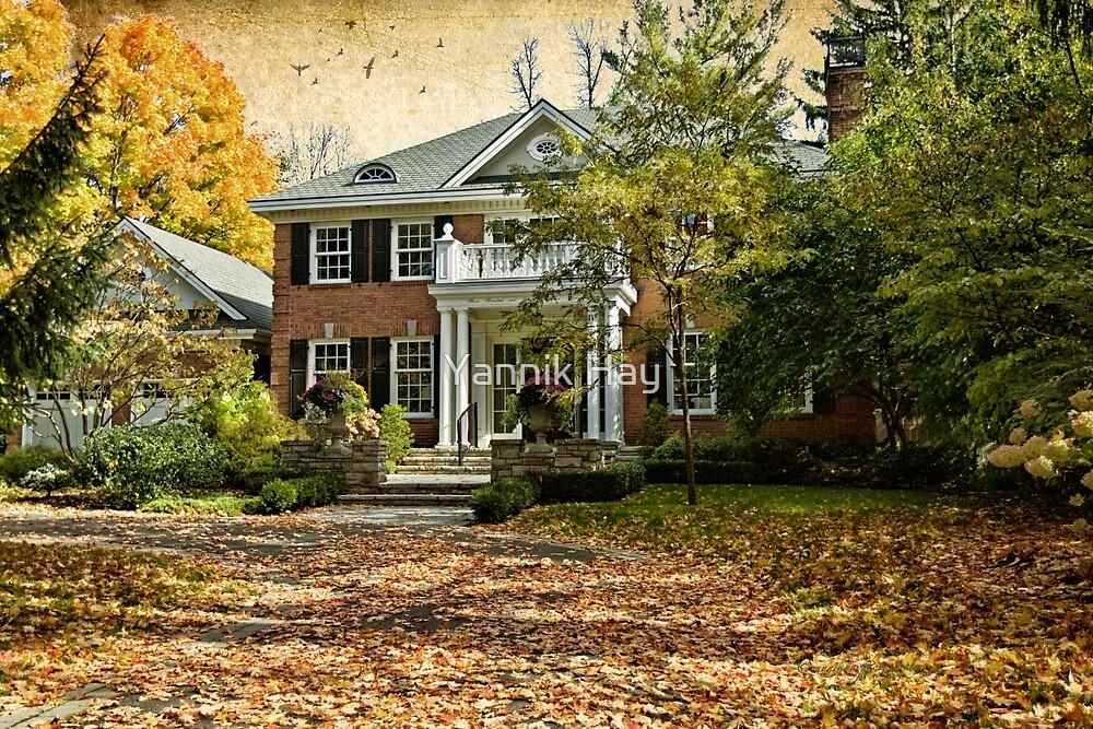 Autumn in Rockliffe Village by Yannik Hay