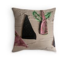 WILD WEST PANTS PARTY *NATIVE PEOPLES* 3 climb into the scenery Throw Pillow